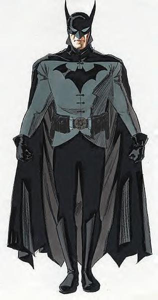 Arte conceptual del Batman: Year One que Aronofsky no llego a rodar