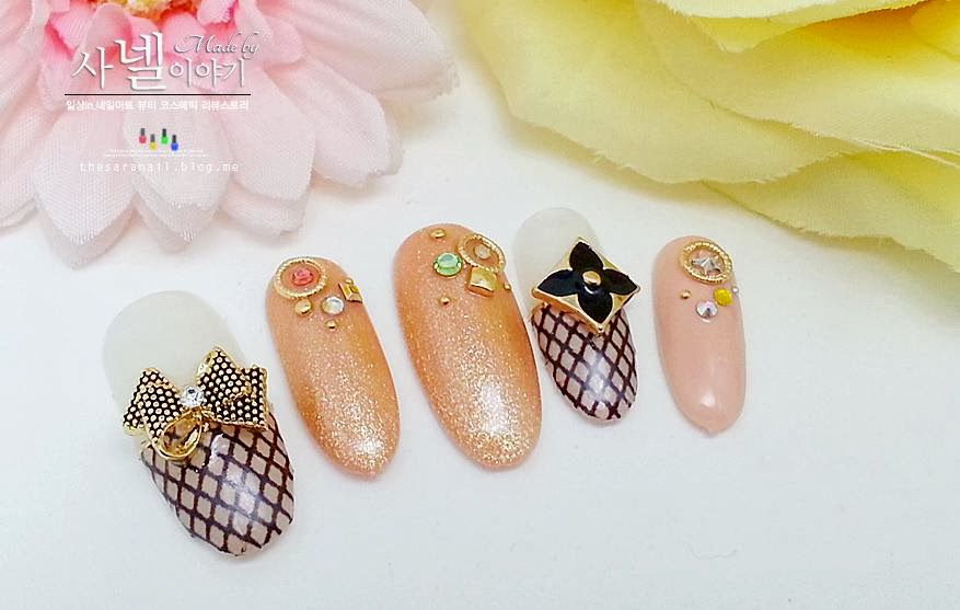 SARA NAIL: Korean cute nail art, how to do cute nail art in Korea