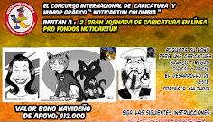 3 JORNADA DE CARICATURA EN LÍNEA PRO FONDOS NOTICIAS DE CARTOON COLOMBIA