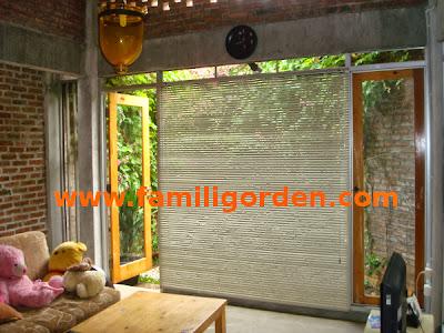 Horizontal Blinds Rumah Pak Sri Harjanto BSD Serpong