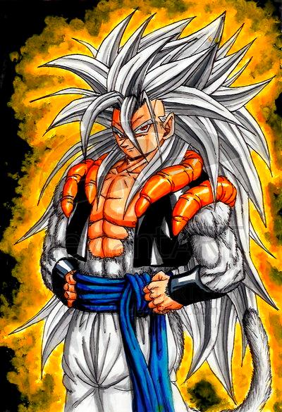 Dragon ball z super saiyan 5 trunk vegeta son goku - Goku super sayan 5 ...