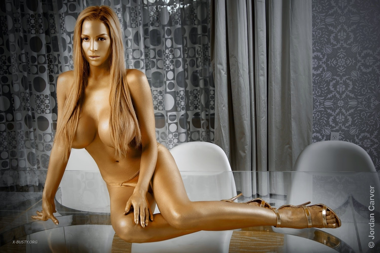 Naked redhead massage