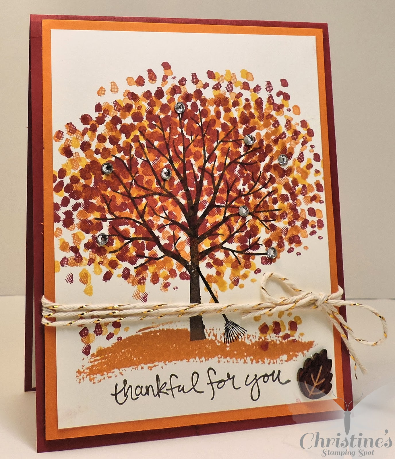 thanksgiving hugs card