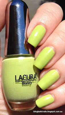 Lacura Apple Green Polish