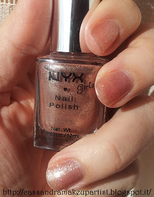 NYX - Girls Nail Polish - 154 Roots - inci - ingredienti - prezzo - recensione - review - swatch