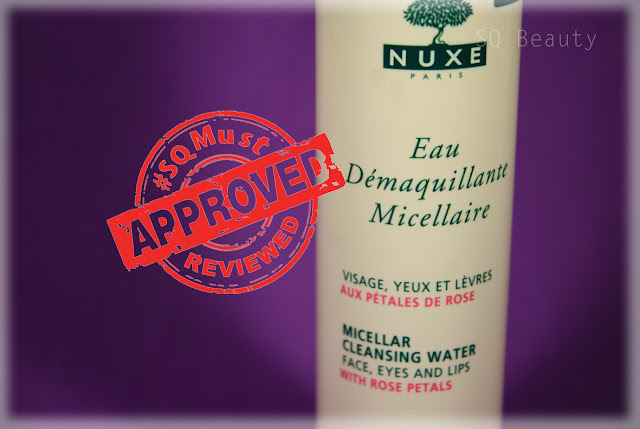 Nuxe Micellar cleansing water Silvia Quirós