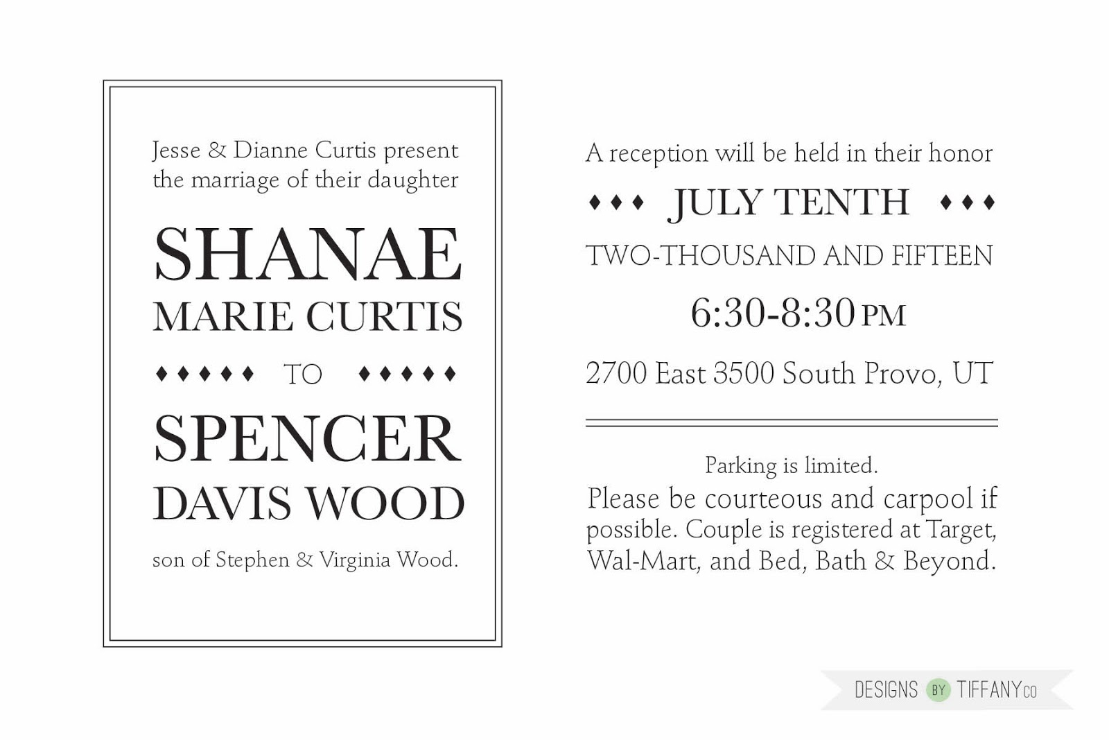 Custom wedding invitation designs by tiffanyco my cute sister in law is getting married i told her i would love to design her wedding invitations for her as part of our gift to her and that i know how monicamarmolfo Images