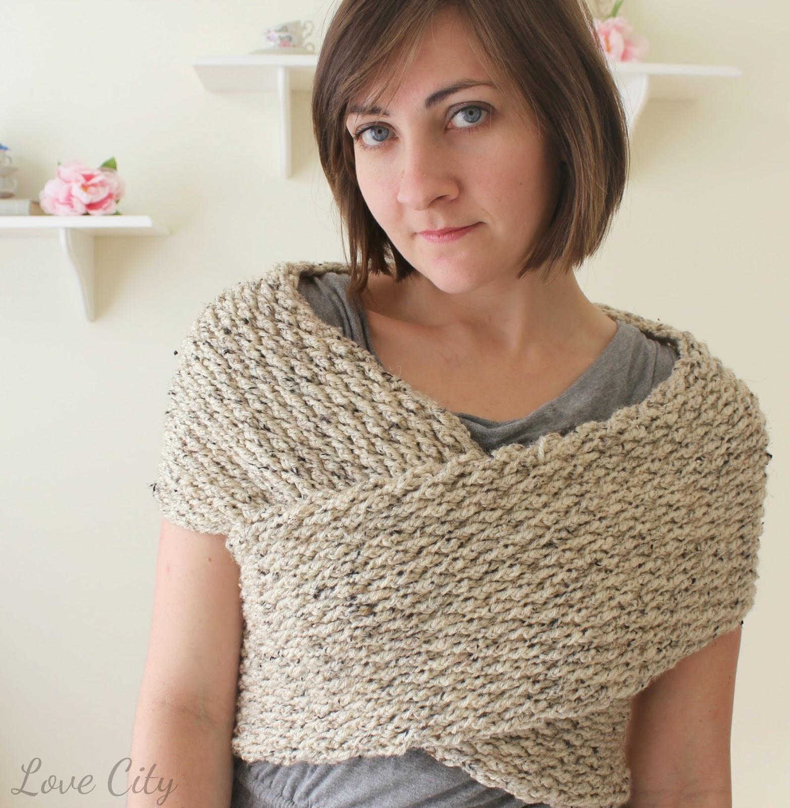 Free Crochet Pattern Wrap Sweater : Love City: crochet love {wrap sweater}