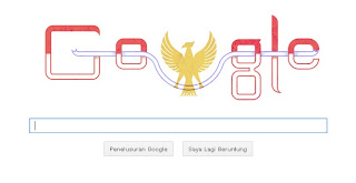 Animasi Google Doodle HUT RI ke 68 th 2013