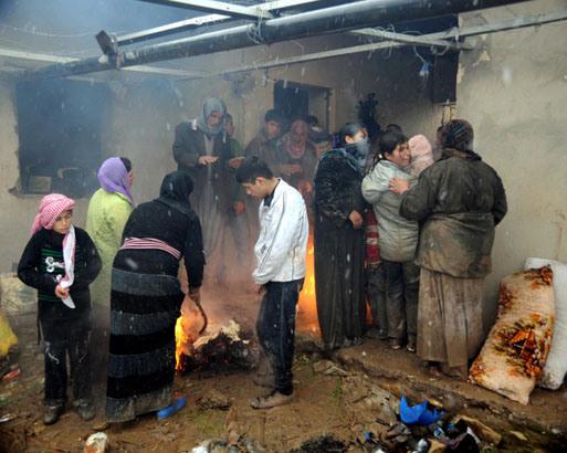 Rakyat Syria Mencari Roti Hingga ke Iraq Utara