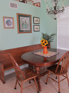 updating condo dining room