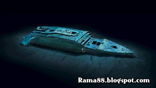 foto kapal titanic setelah satu abad