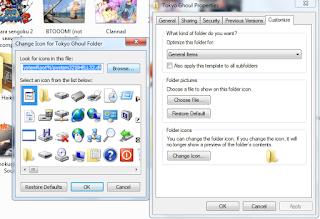Mengganti folder icon tanpa software