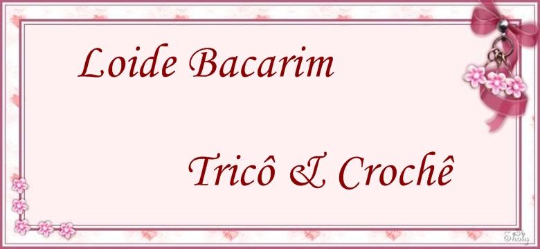 Loide Bacarim Trico & Crochê