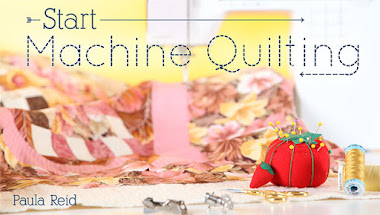 Start Machine Quilting