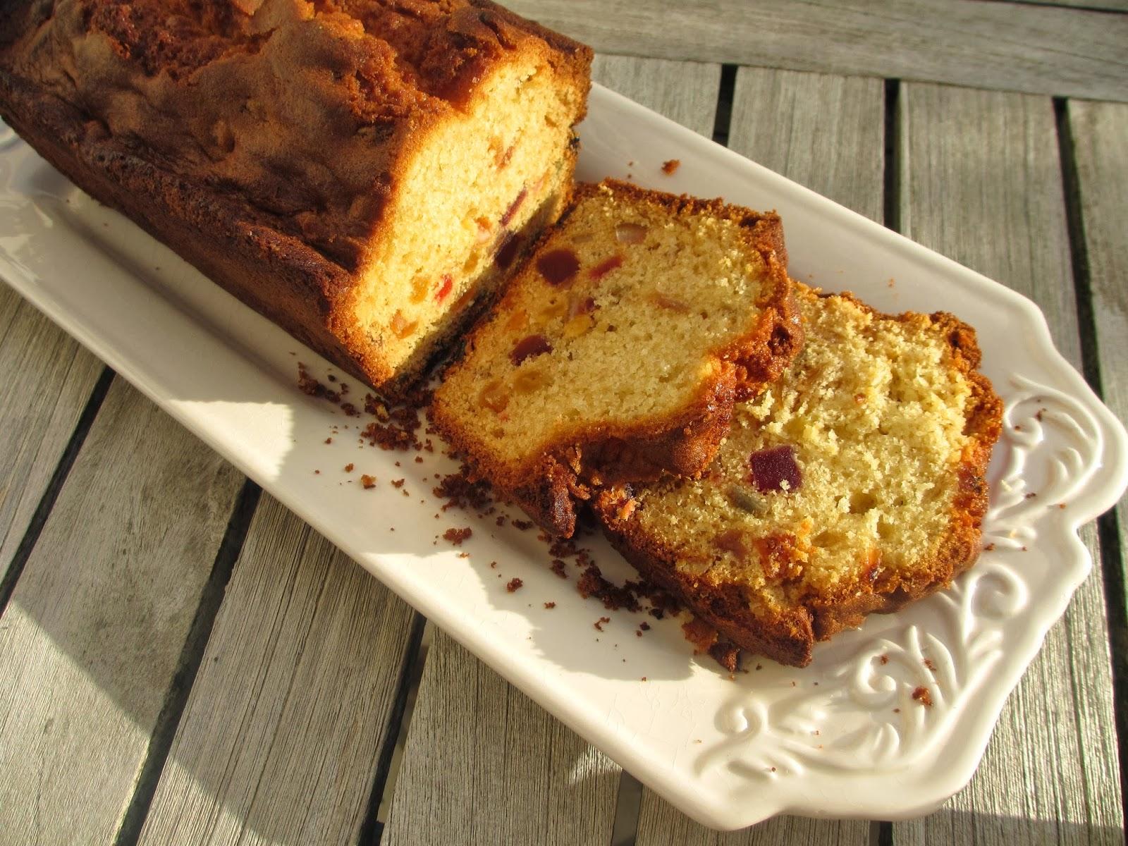 Cake Aux Fruits Confits Thermomix