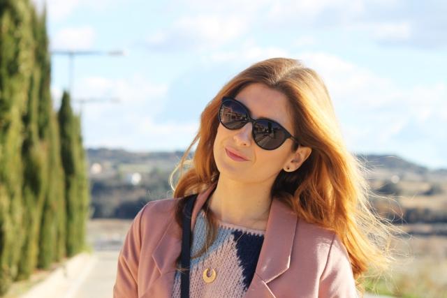 Gafas de sol azules