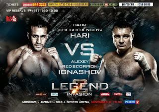 بث مباشر : بدر هاري / أليكسي إغناشوف Badr HARI Vs Alex Ighashov LIVE HD