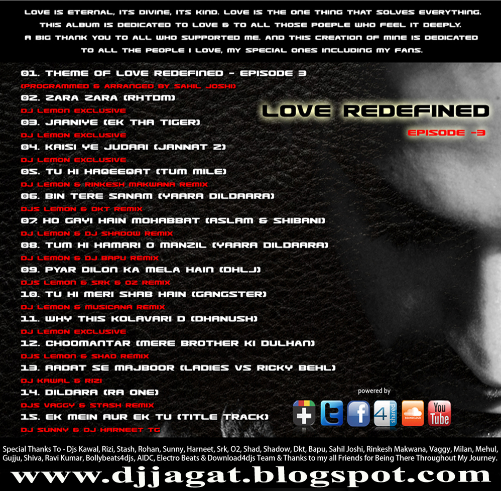 Mera Tu Hai Bas Yarra Mp3 Dwanload: Love Redefined Vol 3