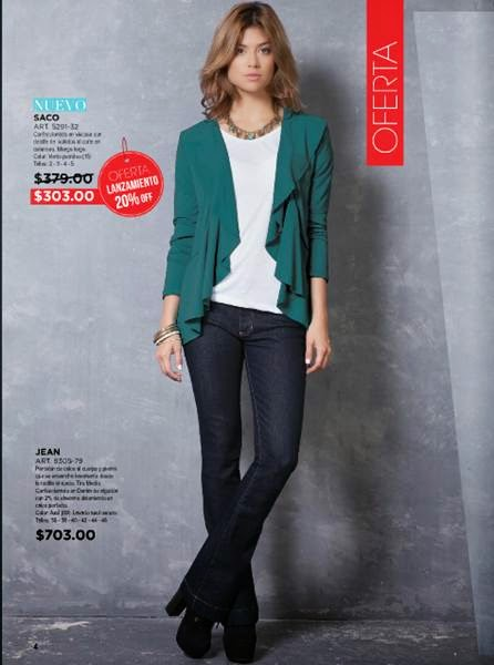 Look de moda Juana C- 2 2015 Arg.