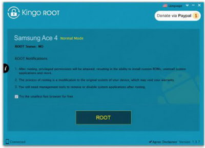 Download Kingo ROOT versi Terbaru