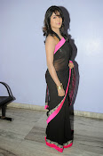 Isha Ranganath glam pics in saree-thumbnail-11