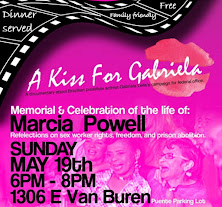 May 19, 6pm: Remembering Marcia Powell, and other victims of police and prison violence