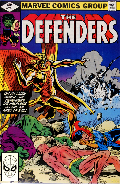 Marvel Comics Of The 1980s 1980 Anatomy Of A Cover Defenders 79