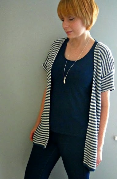 http://portialawrie.blogspot.co.uk/2015/01/refashion-sweater-to-kimono-cardi.html