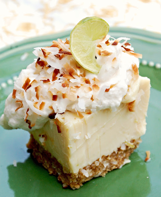 Feathered Nest: Key Lime Coconut Bars