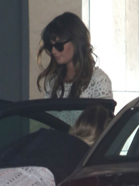 Lea Michele @ Thompson Hotel In Beverly Hills