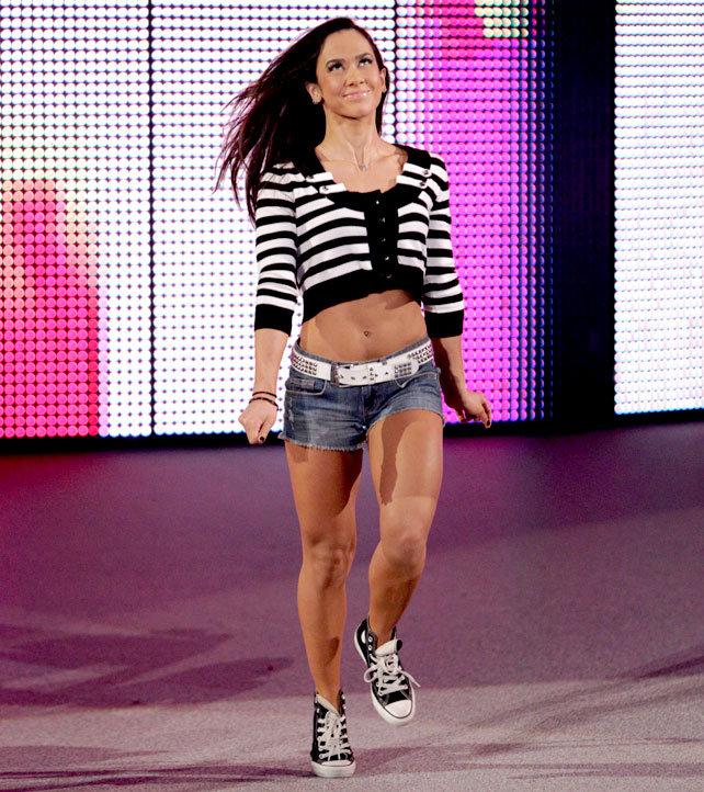 AJ Lee April Mendez Brooks retires CM Punk wife