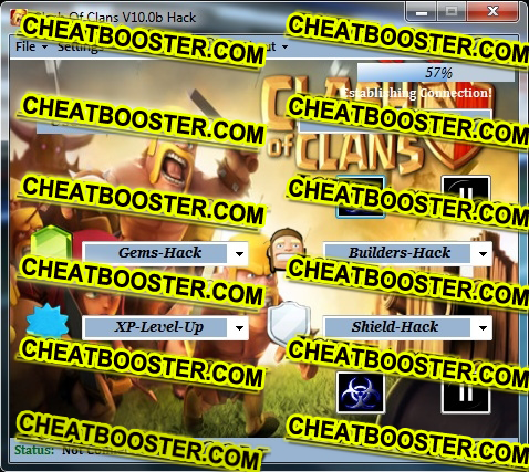 Clash Of Clans Hack & Cheats Download V10.0b Iphone, Android - PC