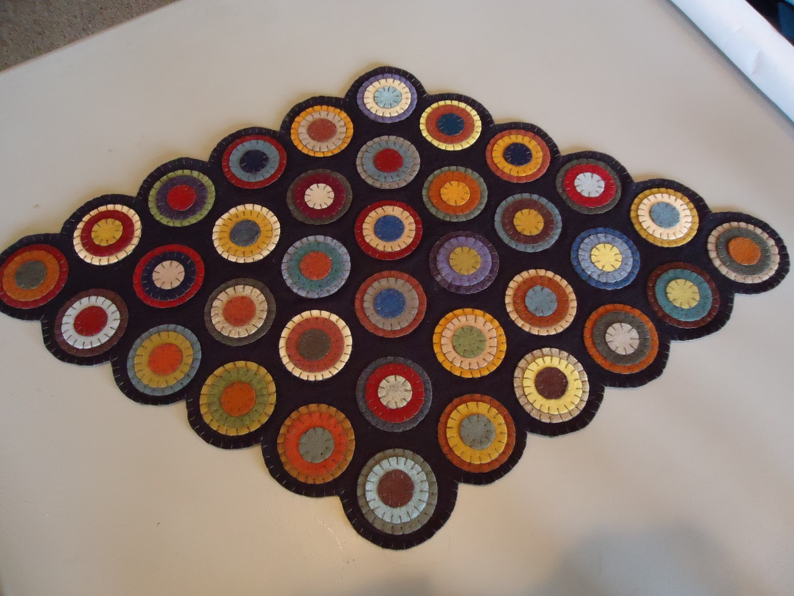 Primitive Stitches New Penny Rug Kits Available