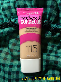 Covergirl Ready Set Gorgeous Foundation 115 Buff Beige bottle
