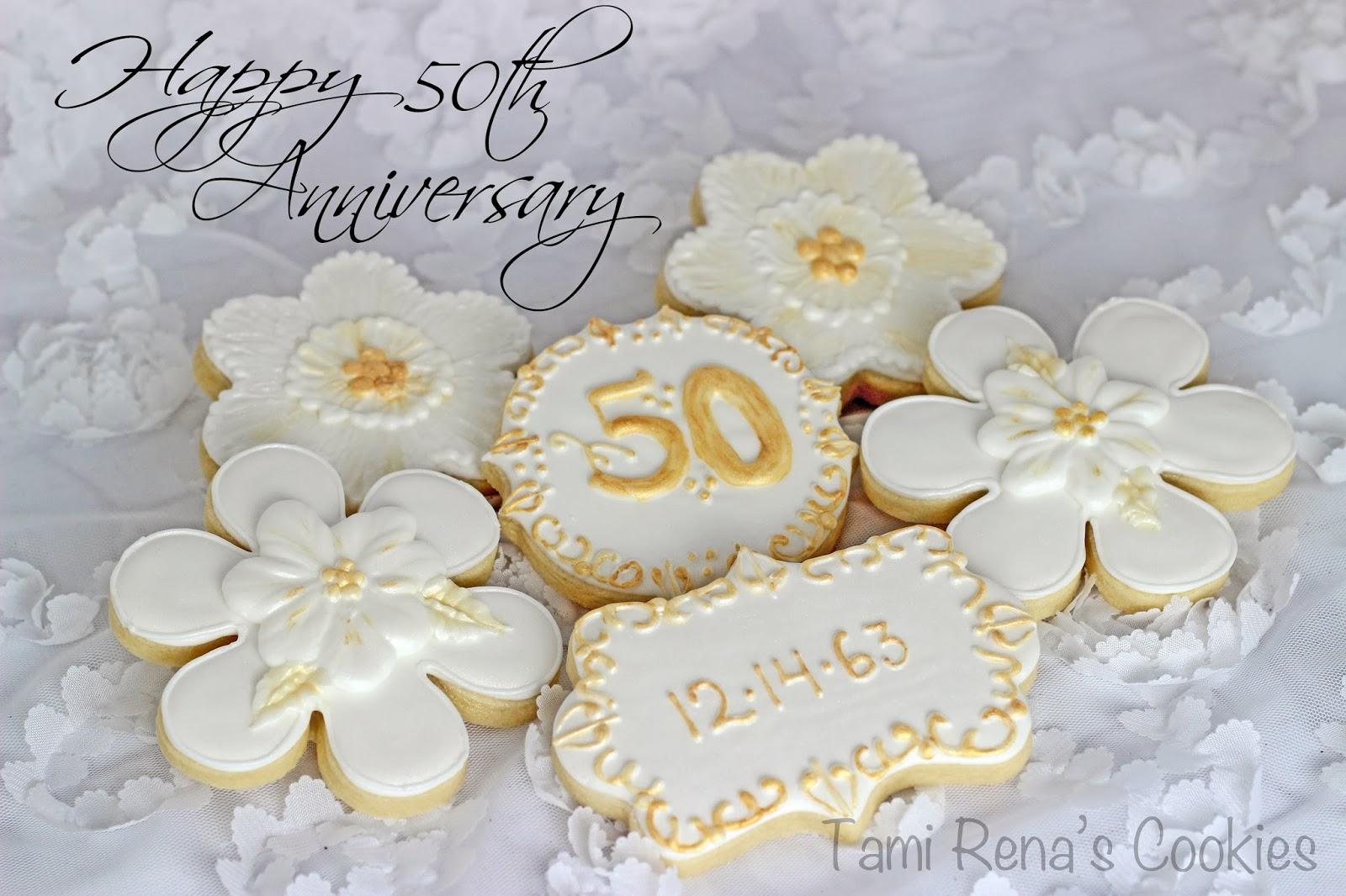 Ideas For 50th Wedding Anniversary 62 Fancy th Wedding Anniversary Cookies