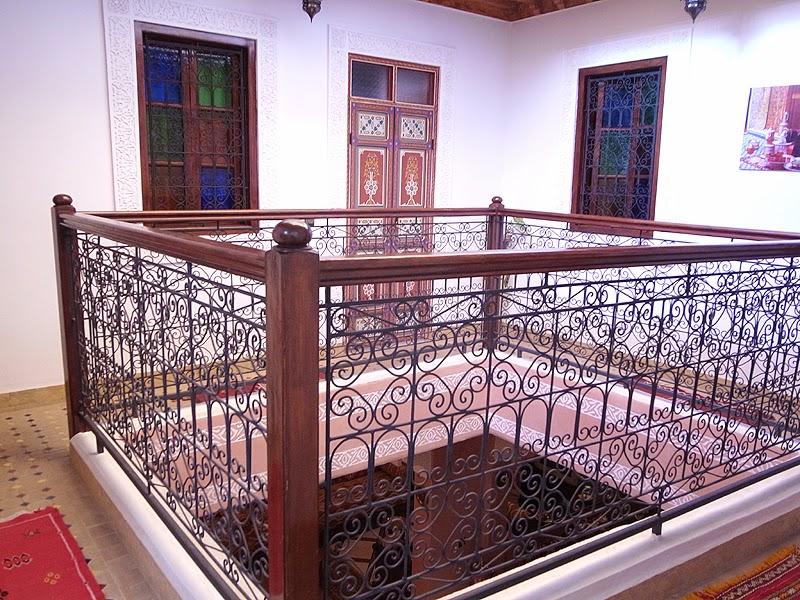 Riad la Famille, Upper floor