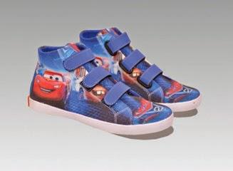 sepatu anak cars