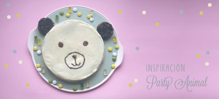 Inspiración Party Animal - Hansel y Greta - Pastel de Cumpleaños con forma de Osito