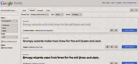 colocar fonte do google font no blogger