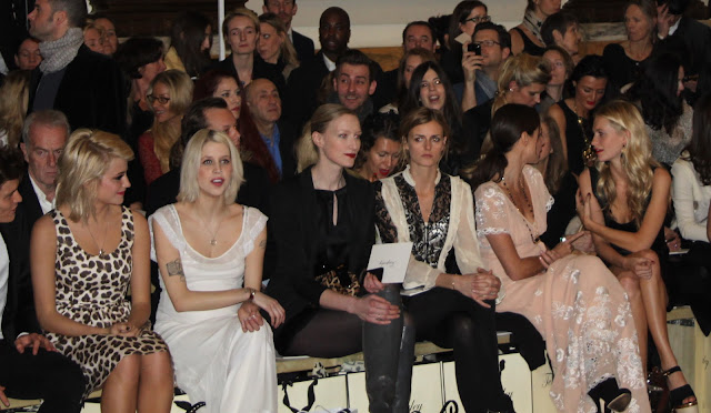 Pixie Lott, Peaches Geldof, Poppy Delevigne Fashion Week