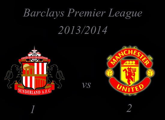 Sunderland vs Manchester United October 2013
