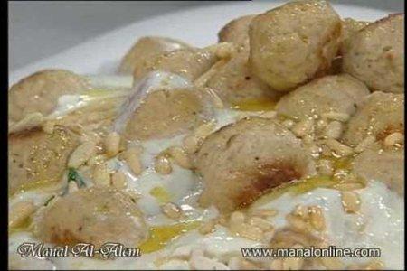 فتة كفتة الدجاج - مطبخ منال العالم
