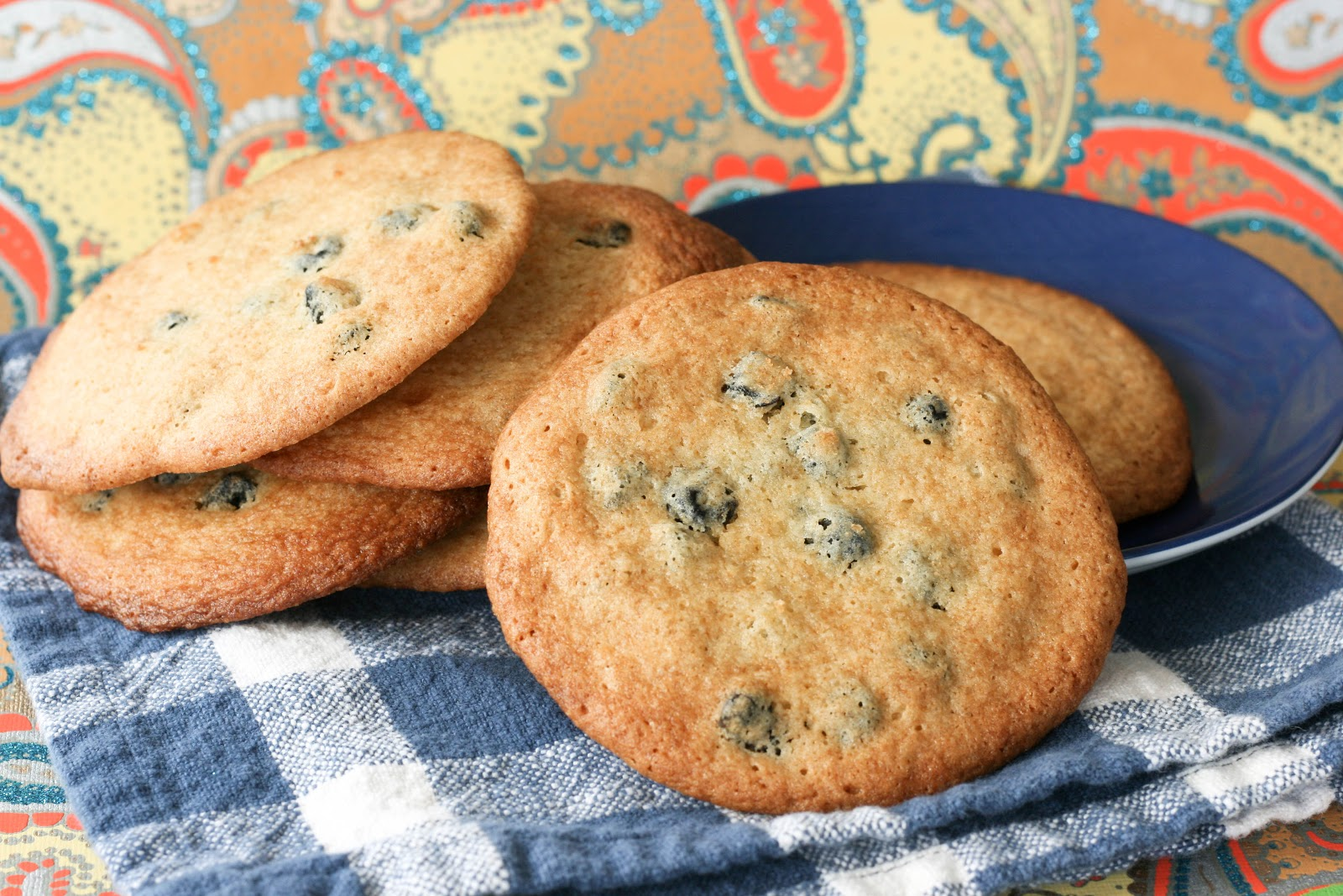 heard we were making these blueberry and cream cookies