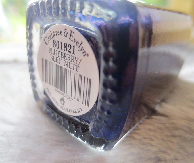 crabtree and evelyn nail polish blueberry
