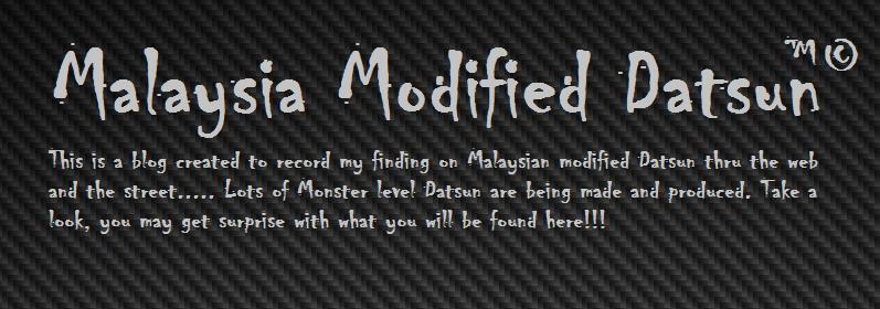 Malaysia Modified Datsun
