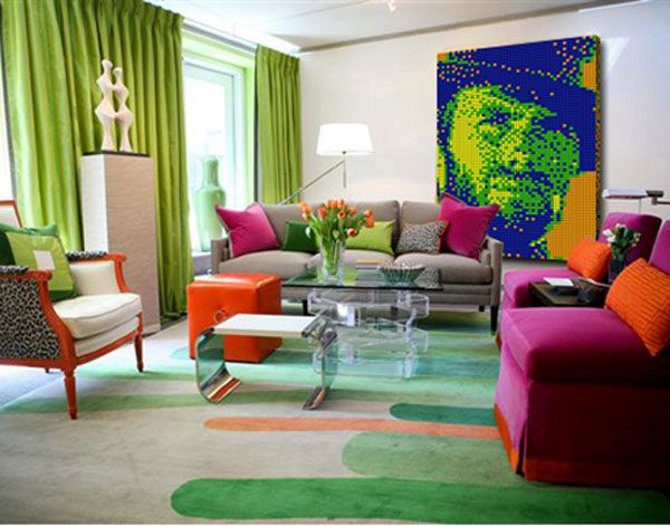 D cor de maison en pop art d cor de maison d coration - Muebles pop art ...
