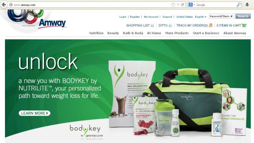 product life cycle of amway products