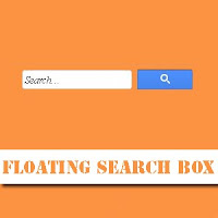 floating search box