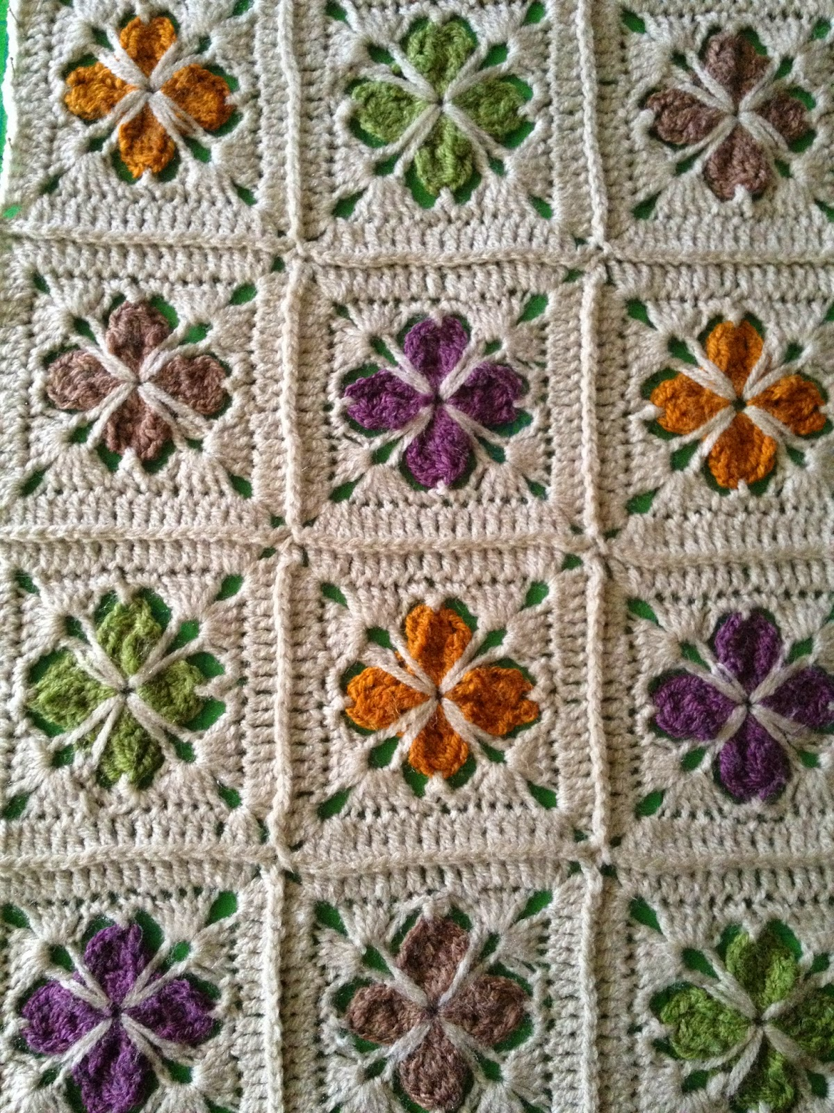 cathedral motif If you're new to the world of crochet and aren't quite ready to make an afghan, try this cathedral motif granny square crochet pattern this granny square.